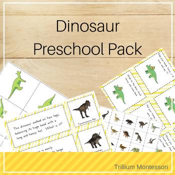 Dinosaurs Preschool Pack