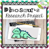 Dinosaurs Research Project