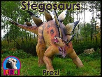 "Dinosaurs: Stegosaurs - ""The Plated Dinosaurs"" (Prezi)"