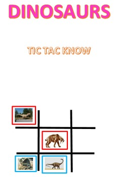 Dinosaurs Tic Tac Know