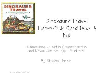 Dinosaurs Travel Fan & Pick Cards (Trophies 2nd grade)