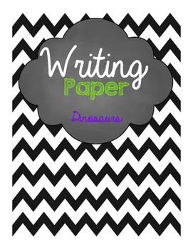 Dinosaurs Writing Paper