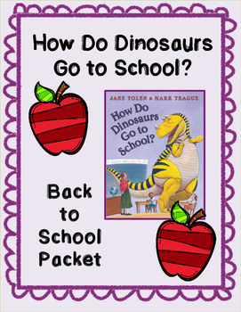 Dinosaurs at School Packet