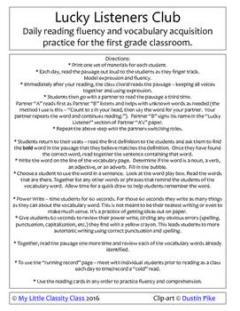 Dinosaurs - reading fluency and vocabulary development