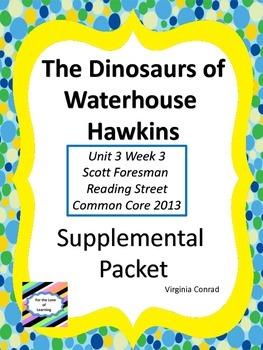 Dinsoaurs of Waterhouse Hawkins--Supplemental Packet--Read