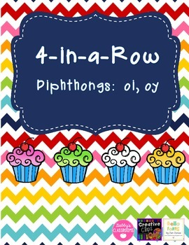 Diphthong 4-in-a-Row - oi, oy