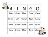 Diphthong Bingo (OW,AW,EW)