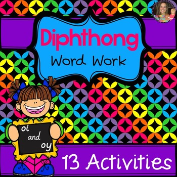 Diphthong OI/OY Word Work