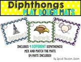 Diphthong Play Dough Activity Mats