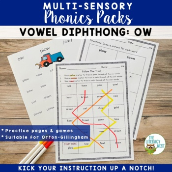 Diphthongs Phonics Practice