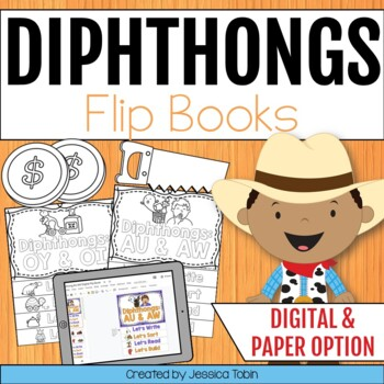 Diphthongs Flip Books