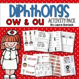 Diphthongs OW and OU ~ Activity Pack