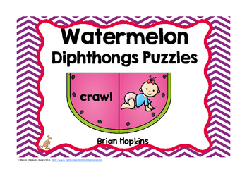 Diphthongs Puzzles Center