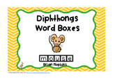 Diphthongs Word Boxes