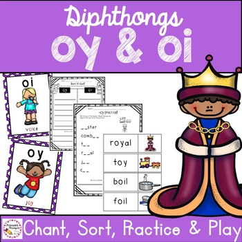 Diphthongs oy oi