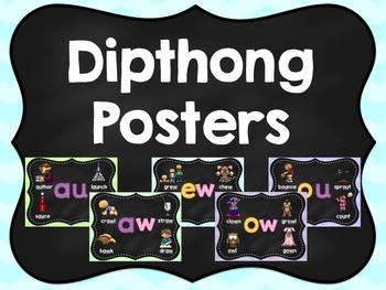 Dipthong Poster Set