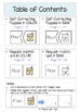 Dipthongs: OU  & OW Self-Correcting Puzzles