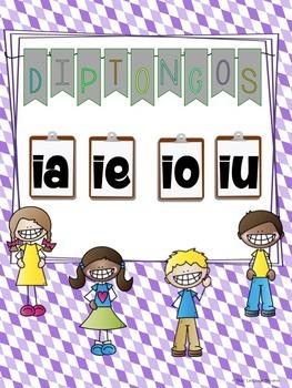 Diptongos--  IA, IE, IO, IU