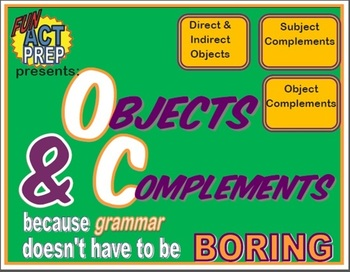 Direct & Indirect Objects: Graphic Organizer, Examples, Qu