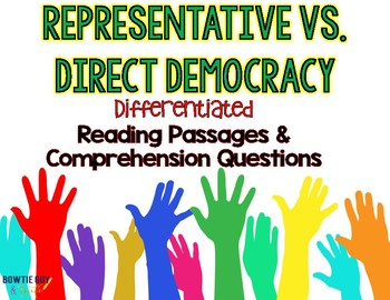 Direct and Representative Democracy Differentiated Reading