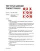 Spanish Direct and Indirect Object Pronoun Tic Tac Toe Par