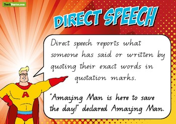 Direct and Indirect Speech Posters