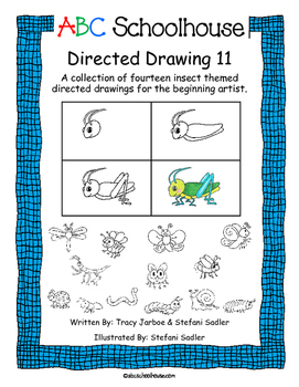 Directed Drawing 11: Insects