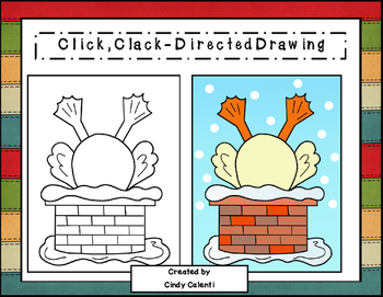 Directed Drawing: Click, Clack, Ho! Ho! Ho!