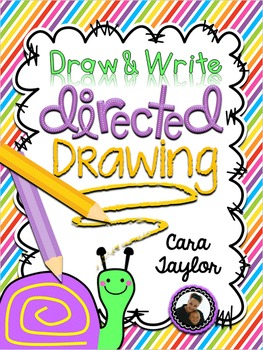 Directed Drawing ~ Draw and Write the Alphabet