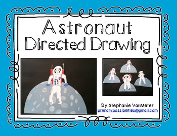Directed Drawing (Space Theme) Astronaut