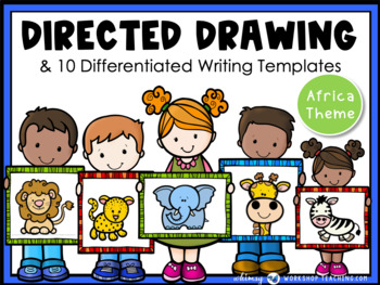 Directed Drawing With Writing Prompts Africa (45 pgs) Whim