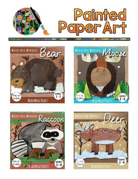 Art Lessons: Directed Drawing: Woodland Wonders - Raccoon,