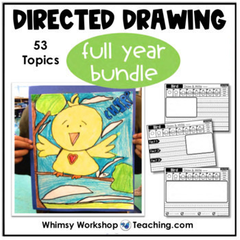 Directed Drawing and Writing For the Whole Year
