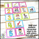 Direction Cards with Pictures {Bright Polka-Dot Theme w/ e