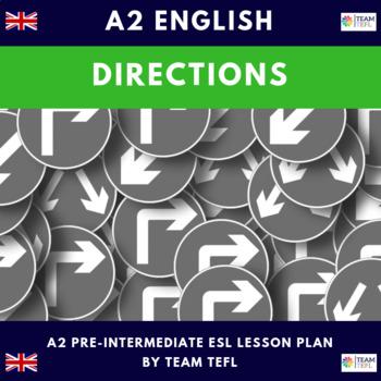 Directions A2 Pre-Intermediate Lesson Plan For ESL