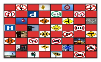 Directions Checker Board Game