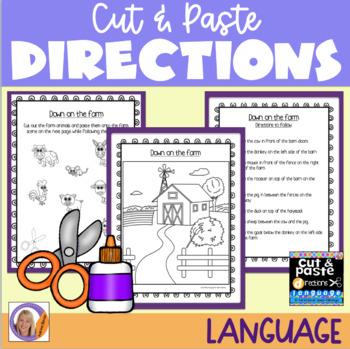 Directions: Cut & Paste
