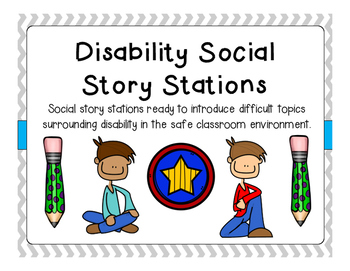 Disability Social Story Stations