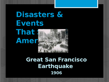 Disasters & Events That Shaped America - Great San Francis
