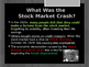 Disasters & Events That Shaped America - Stock Market Cras