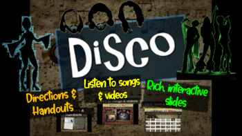 Disco: A comprehensive & engaging Music History PPT (links