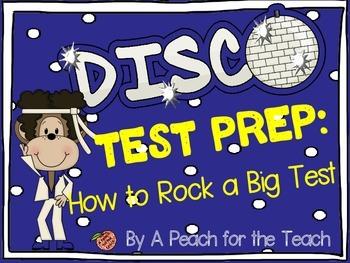 Disco Monkey Test Prep: How to Rock a Big Test {Standardiz