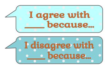 Discourse Sentence Frame Signs