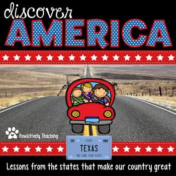 Discover America: Texas ~ An Integrated Reading, Social St