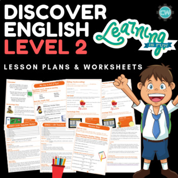 Discover English - Level 2 (ESL) Lesson Plans & Worksheets