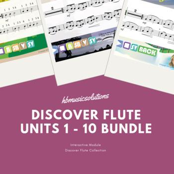 Discover Flute Complete Bundle Units 1 - 10