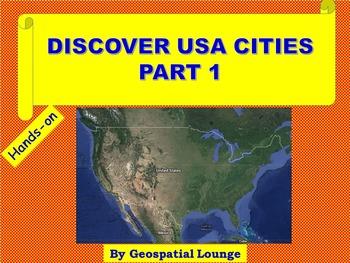 USA Cities Latitude and Longitude Part 1