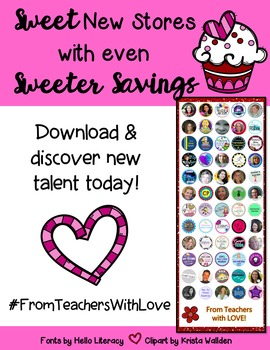 Discover sweet new stores with even sweeter savings! #From