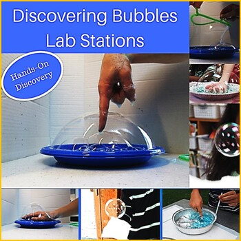 Discovering Bubbles:  5 Activities for Exploring the Scien