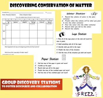Discovering Conservation of Matter